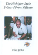 Michigan-Style 2-Guard Offense:  Set of 2 DVDs